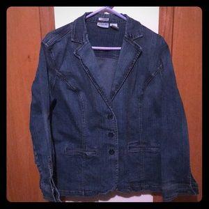 Stylish Jean jacket blazer, stretch